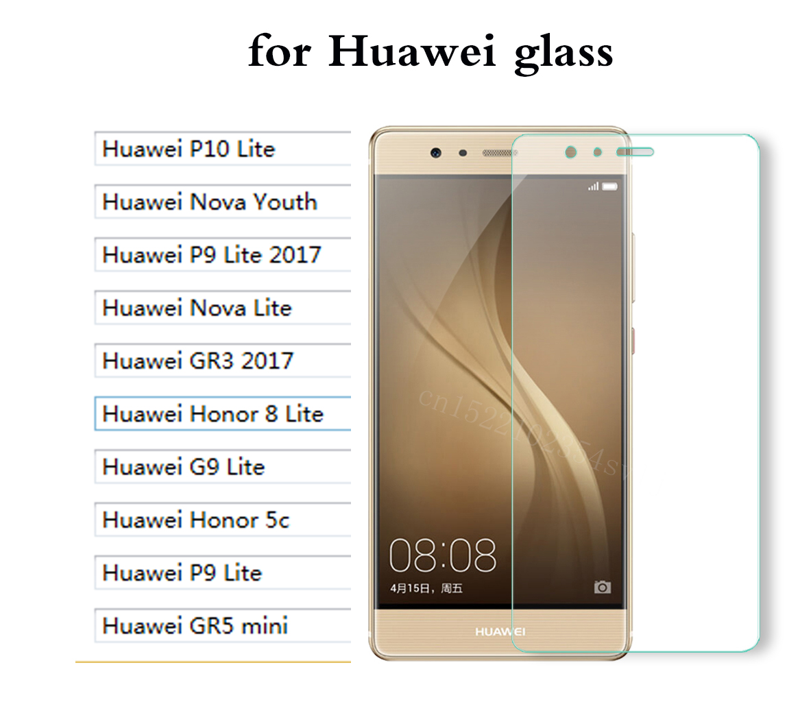 Transparent <font><b>Screen</b></font> Glass for <font><b>Huawei</b></font> P10 Lite Nova Youth P9 Lite <font><b>2017</b></font> <font><b>GR3</b></font> <font><b>2017</b></font> Honor 5c P9 8 G9 Lite GR5 mini tempering glass < image