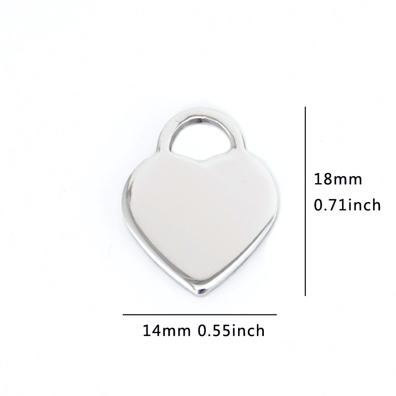 stainless Discount pendant 50pcs 4