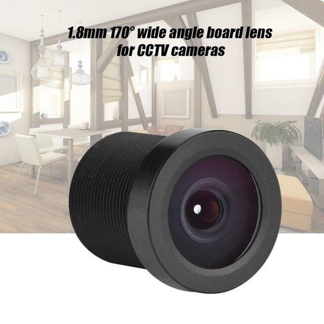 """Широкоугольный объектив CCTV 1MP 1,8 мм 170 градусов для 1/3 """"1/4"""" CCD камеры безопасности"""