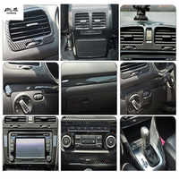 1 lotto adesivi Per Auto ABS grano in fibra di carbonio all'interno della decorazione della copertura per il 2009-2013 Volkswagen VW golf 6 MK6