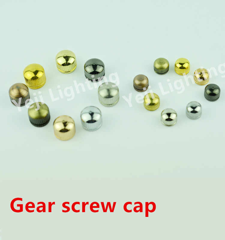 Ceiling lamp meal hanging base hole screw cap gear screw cap beauty nut nut decoration round nut  lighting accessories DIY