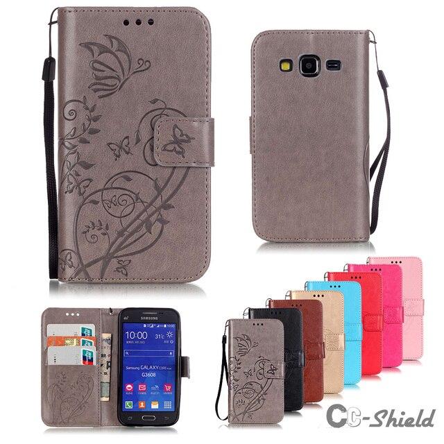 Flip Case for Samsung Galaxy Core Prime G361 G361F G360H/DS SM-G360H/DS SM-G360F SM-G360H SM-G361F SM-G361H phone silicone box