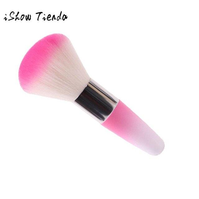 Venta caliente cepillo Legal quitar polvo para uñas acrílicas uñas y uñas limpieza de polvo nuevo cepillo de maquillaje herramientas de maquillaje