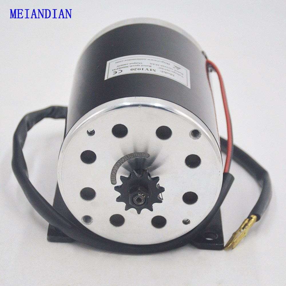цена на 36V/48V 1000W MOTOR Electric Scooter Tricycle High Speed Brush DC Motor Electric Bicycle Motor Ebike dc motor 1000W
