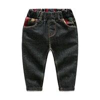 Children Jeans 2017 New Arrival Autumn Korean Boys Denim Trousers High Quality Casual Cowboys Long Pants