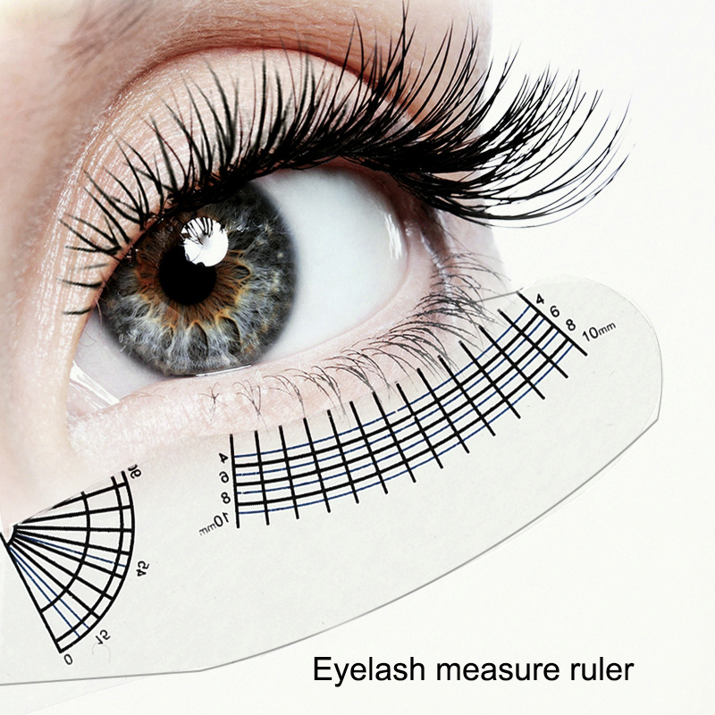5PCS Tattoo Material Eyelash Measure Tool Measuring