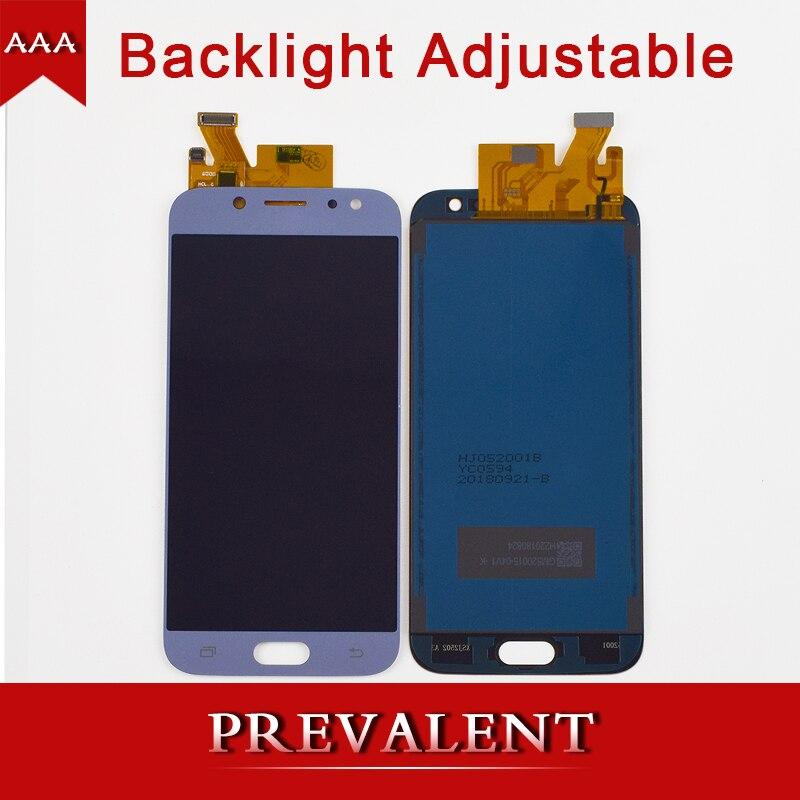 Luminosité Réglable Pour Samsung Galaxy J5 2017 J530 J530F J530FM LCD Module D'affichage + Écran Tactile Digitizer Assemblée Capteur