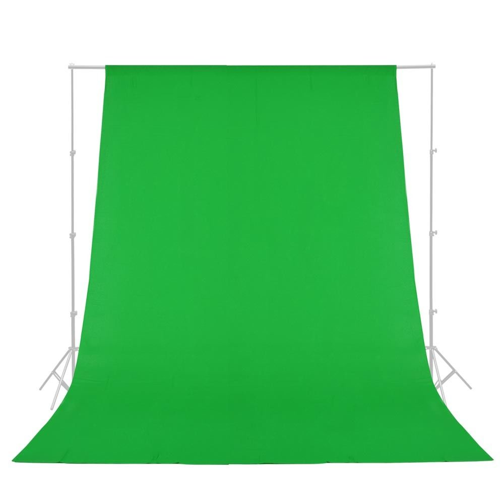 Free shipping 10' X 10'  Solid Color Green Muslin Photo Video Backdrop FV003 ,Solid cloth Backdrop,6 colors for your selects