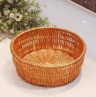 حرية الملاحة ، diameter-30cm ، الروطان مربع الخبز سلة فاكهة حكمت الحلوى الجملة الزفاف مخصص التغليف ، ديكور المنزل