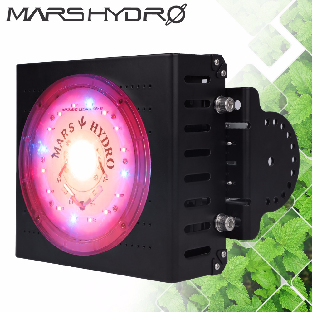 Mars Hydro CreeLEDs COB Led Grow Light 300W Full Spectrum Grow Light for Indoor Greenhouse Grow Box Medical Plants high power full spectrum led grow light 200w with cob reflector for hydroponic grow box medical plants supplemental lighting