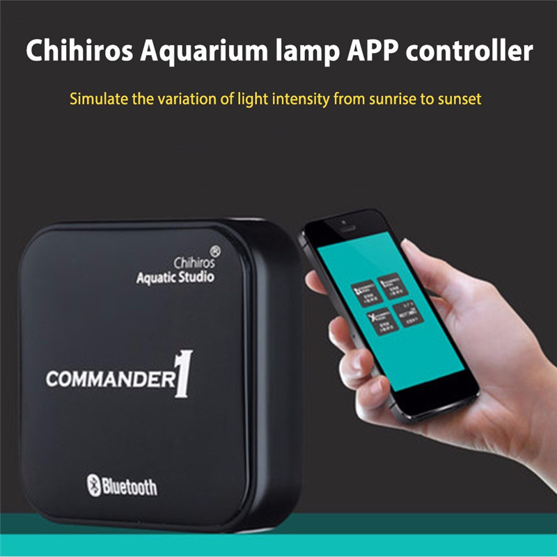 Chihiros Bluetooth LED Light Dimmer Controller Modulator For Aquarium Fish Tank LED Intelligent Lighting Timing Dimming SystemChihiros Bluetooth LED Light Dimmer Controller Modulator For Aquarium Fish Tank LED Intelligent Lighting Timing Dimming System