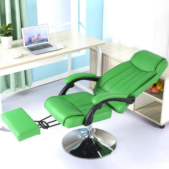 Alta qualidade lazer preguiçoso cadeira casa cadeira reclinável cadeira do computador cadeira de escritório cadeira da beleza pode elevador girar
