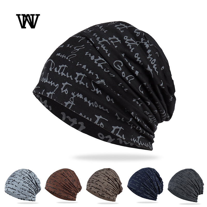 Fashion Hip-hop Hat Men Thin Skullies Beanies Hat For Women Breathable Bonnet Female Cap Billie Eilish Gorro Beanies TTM-CZX10