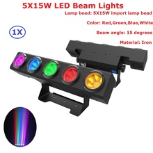 hot deal buy  1pcs/lot led bar lights 5x15w rgbw quad color led stage beam lights with 4/11/20 dmx channels for dj disco ktv nightclubs