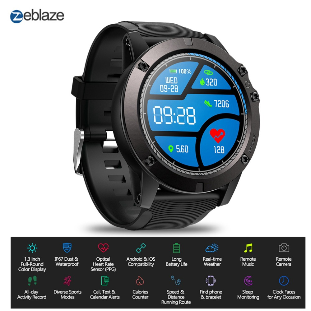 Smart Watch Zeblaze Vibe 3 Pro Smartwatch Men Fitness Bracelet Heart Rate Monitor Remote Music Wrist Watch Sport For iOS AndroidSmart Watch Zeblaze Vibe 3 Pro Smartwatch Men Fitness Bracelet Heart Rate Monitor Remote Music Wrist Watch Sport For iOS Android