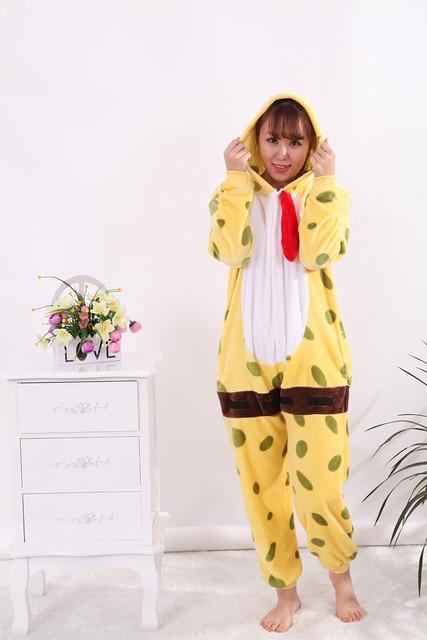 5544443046 Bob Esponja ropa Unisex pijama adultos pijamas disfraces Cosplay Animal  Onesie ropa de dormir Mono para