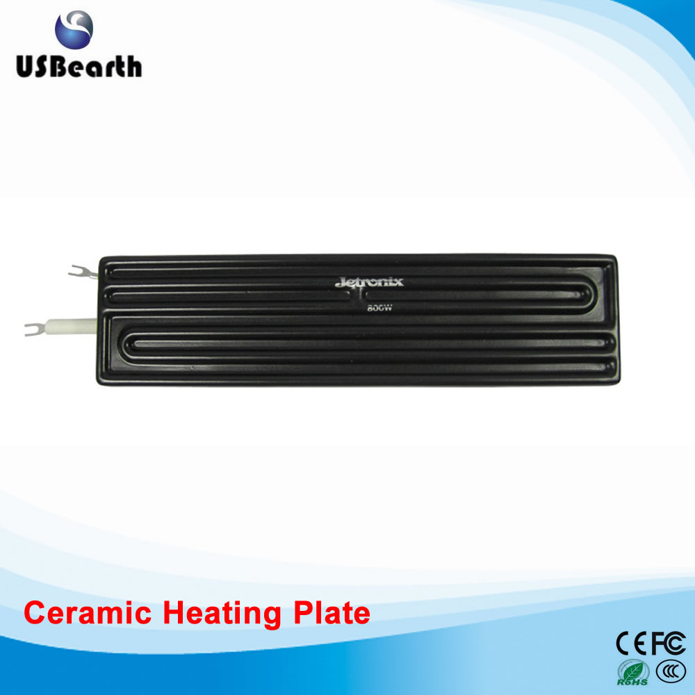 jetronix 800W ceramic heating plate bottom heater for bga machine 110v 120v 100w poultry ceramic heating emitter black heating lamp for pet heating bulb for reptile with socket e26