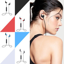 Buy Wireless Bluetooth Earphones  Sweatproof Sport Headset  Stereo Earbud With Mic directly from merchant!