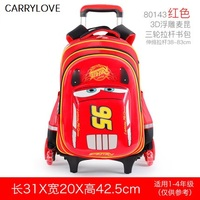 Travel tale Multifunction luggage Trolley bag boy three rounds can climb stairs for 6 12 years old Suitcase