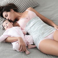 ZeeChi 2 Sets Postpartum Bandage Belly Band Maternity Pregnancy Women Body Shapers Six Layers Belt Abdomen