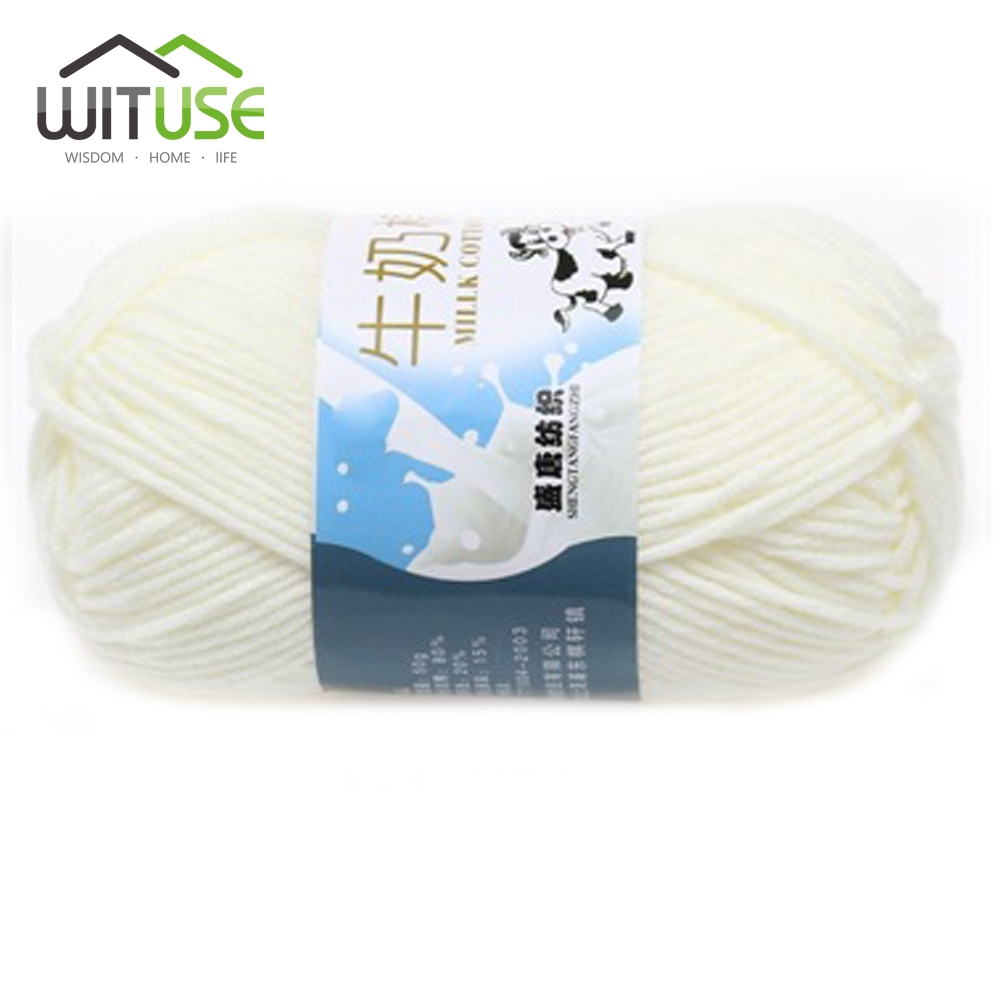Buy Wituse 1pc Cheap 50g Ball Diy Milk Cotton Knitting Yarn Wool Circuit Cutting Machine Promotionshop For Promotional Go To Store