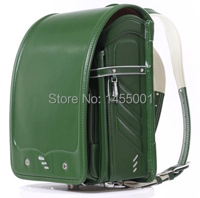 ФОТО coulomb BL.RS.0025  Randoseru for girls and boys school bag japanese bag fits for A4 file protect spine high quality