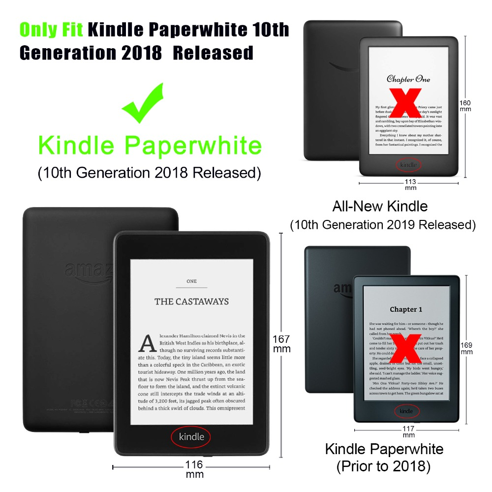 Hot Sale] Magnetic Smart Cover Case For Amazon New Kindle