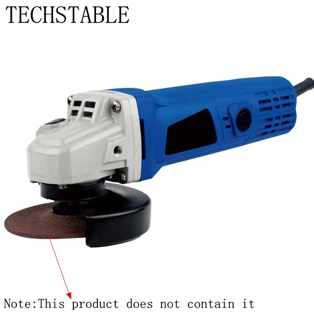 TECHSTABLE 220V 850W 100mm 10000rpm High power industrial and household angular grinding machine High quality angle grinder dennis sitsofe anyomi power quality and industrial performance