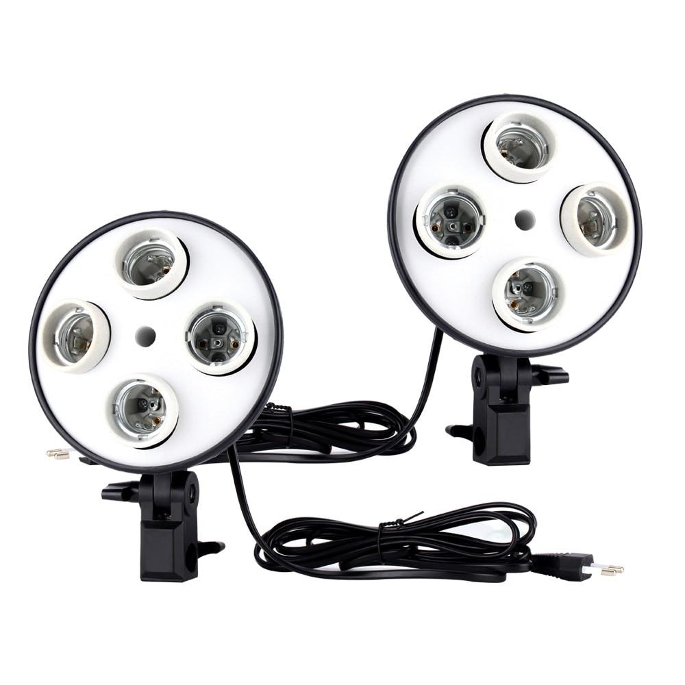 Cymye foto de estudio de EC01 8 LED 24 w Softbox luz Kit de cámara y accesorios de la foto - 3