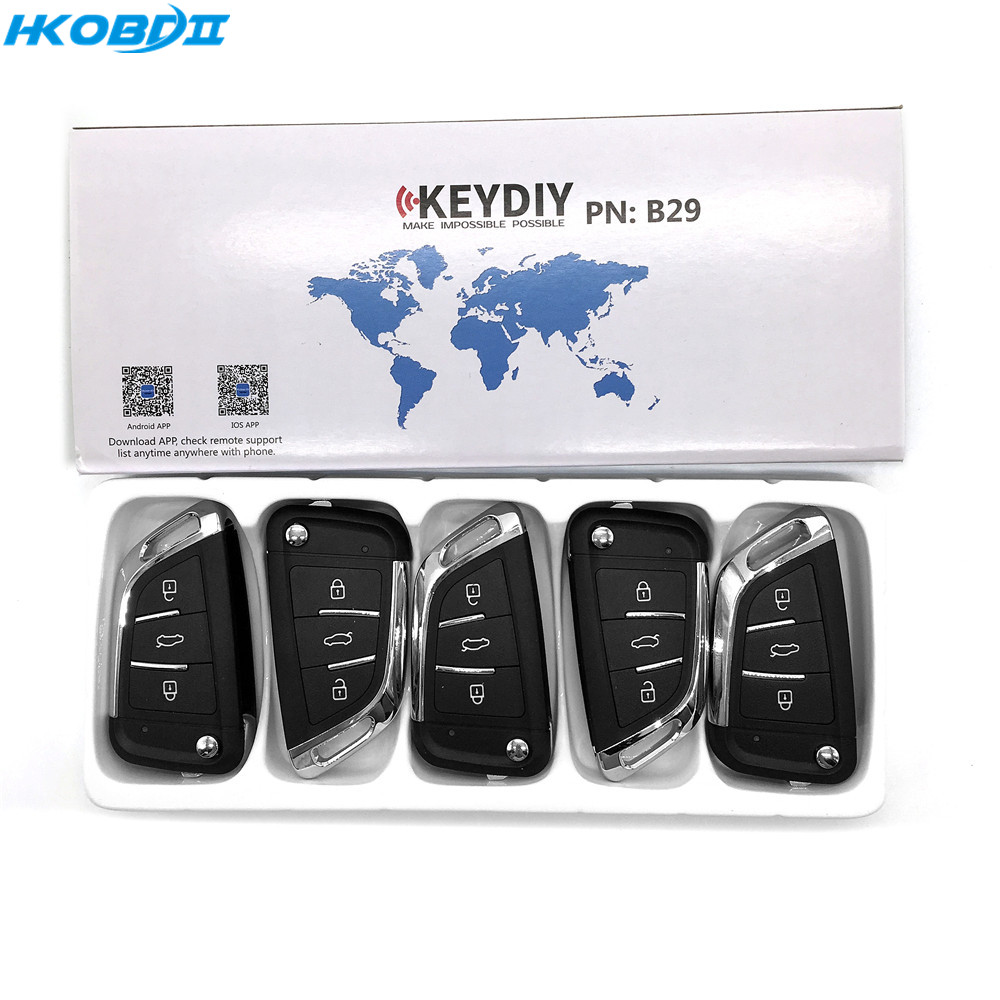 HKOBDII KEYDIY Original KEYDIY KD B29 B Series For KD900/KD-X2 Key Programmer KD MINI B Series Remote Control