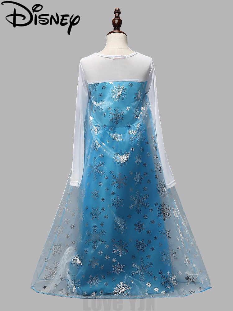 ディズニー冷凍女の子プリンセス子供パーティー布 Vestidos 夏ベビーキッズカスタムコスプレラプンツェル nova ドレス