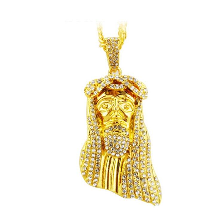 Online Get Cheap Mens Real Gold Jewelry Jesus Aliexpresscom