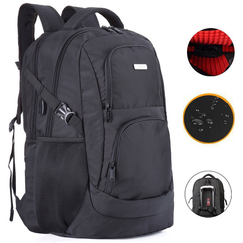 Business Laptop Backpack 17 18 Inch Usb Charge Computer Bag Anti-theft Notebook Backpack School Bookbag