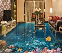 custom 3d floor tiles photo wallpaper shark 3d floor wallpaper pvc self adhesive wallpaper 3d floor for living room