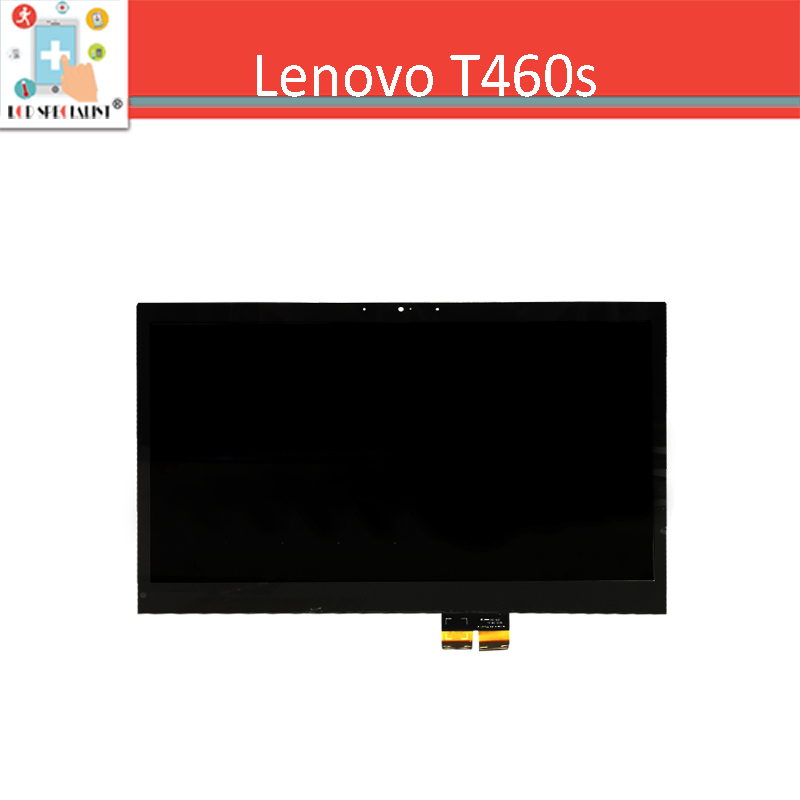 New Black 14 inch For Lenovo T460s LCD Display  Touch Screen Digitizer Sensor Glass Assembly Laptop Screen Replacement Parts
