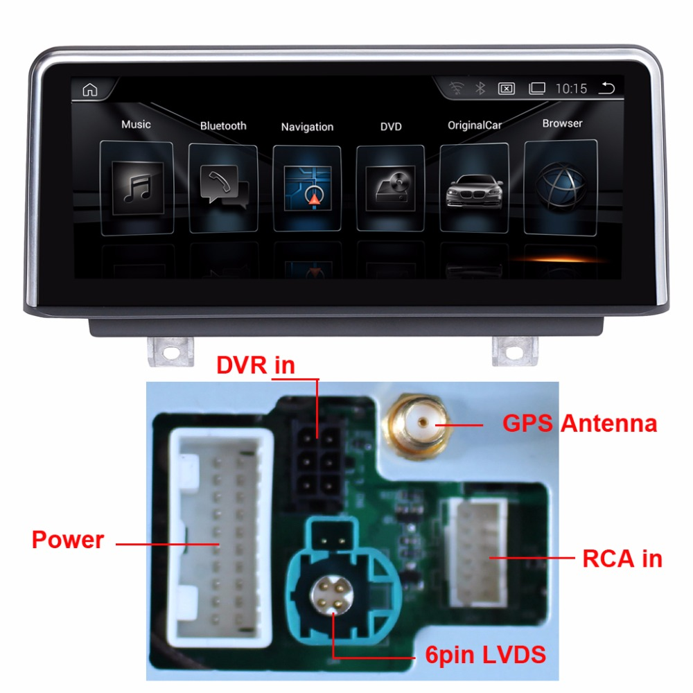 8.8 inch Car Multimedia Player for BMW 1 Series F20/F21(2011-2016) BMW 2 Series F23 Cabrio(2013-2016) GPS MP5 Bluetooth Wifi bmw 645 ci cabrio convertible 1 24