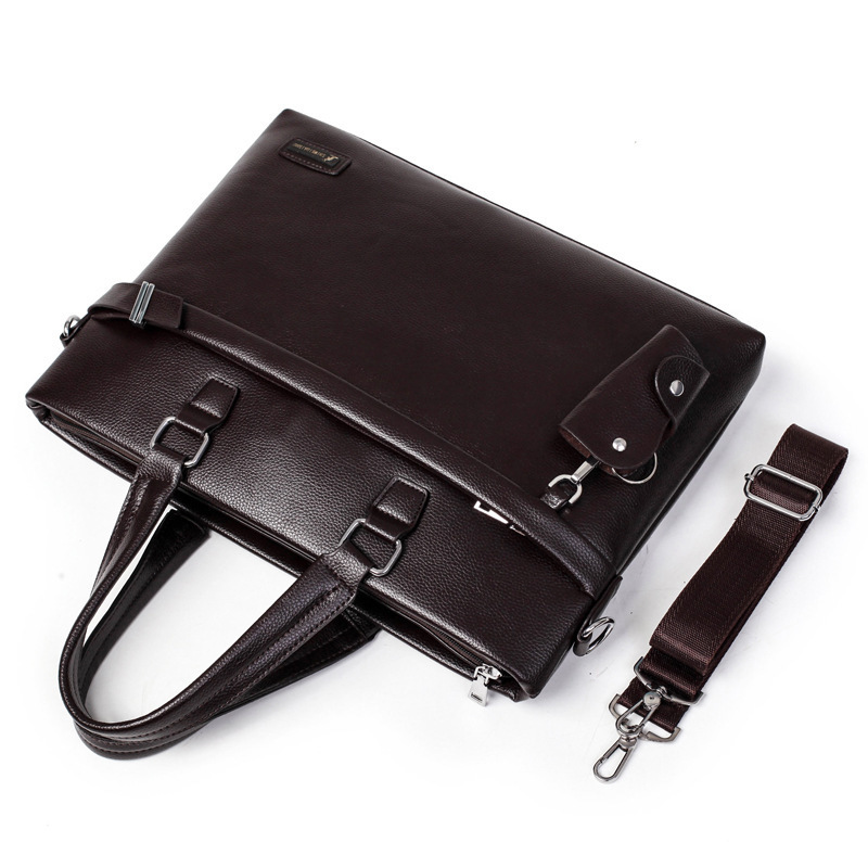 Male Man Handbag Package Single Shoulder Messenger Bag Designer Luxury Purses Brand Men Leather Briefcase Leatherwear Leisure