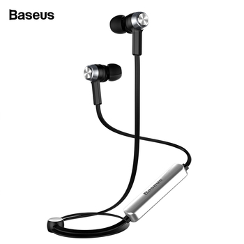 Baseus Magnet Wireless Bluetooth Earphone Headphone For iPhone X 8 7 Samsung Sport Wireless Headset With Mic Stereo Earpieces