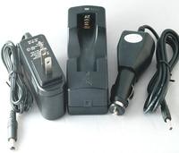 18650 Pojedyncze Gniazdo Ładowarka + Car Adapter + Adapter Ścienny