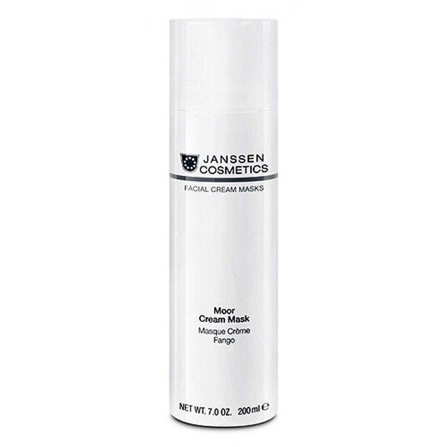Маска JANSSEN для лица Ревитализирующая для всех типов кожи Moor Cream Mask 200 мл