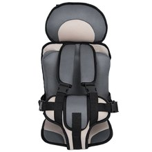 Portable Baby Safety Car Seat Kids Chairs In Car Babies Updated Version Thickening Children Cotton Car Seats Infant Safe Seat