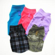 Теплая одежда с принтом в виде собак для маленьких собак ветрозащитный зимний Pet курта для собак подкладке одежда на Хлопчатобумажной Подкладке одежда для щенков жилет одежда для Йорка Чихуахуа Одежда