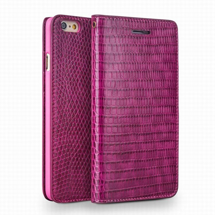 "For Apple iPhone 6 6S 4.7"" /6 6S Plus 5.5"" Top Quality Luxury Genuine Leather Crododile Flip Cover Case Phone Bag Women Wallet"