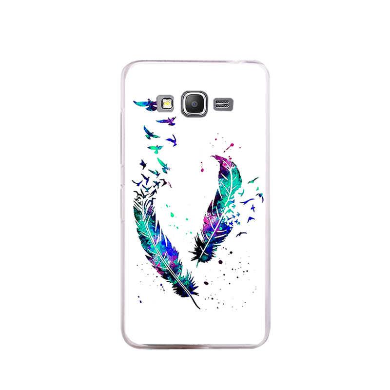 Чехол для samsung Galaxy J1 2016 чехол мягкий из термопластика силиконовый чехол для принципиально samsung J1 6 2016 J120 J120F J120H J120F/ds телефонные чехлы
