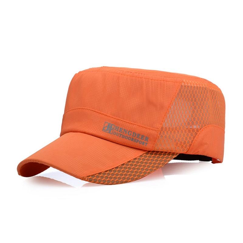 a94957371 [AETRENDS] Breathable Mesh Flat Cap Summer Baseball Cap Men Flat Snapback  Caps for Men Dad Hat Vintage Bone Aba Reta Z-5150