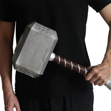 Thor's Hammer 44cm Cosplay Thor Thunder Hammer Weapons  Movie Role Playing Safety PU Material Kids Toy Gift 29cm thor s hammer toys new avengers super heroes thor hammer cosplay toy plastic hammer action figures for kids christmas gifts