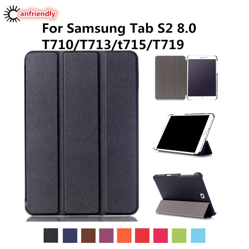 PU Leather Case for Samsung Galaxy Tab S2 8.0 T710 T713 T715 T719 Cover for Samsung Tab S2 8.0 SM-T710 SM-T715 SM-T719 SM-T713
