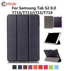 PU skórzane etui do Samsung Galaxy Tab S2 8.0 T710 T713 T715 T719 pokrywa dla Samsung Tab S2 8.0 SM-T710 SM-T715 SM-T719 SM-T713