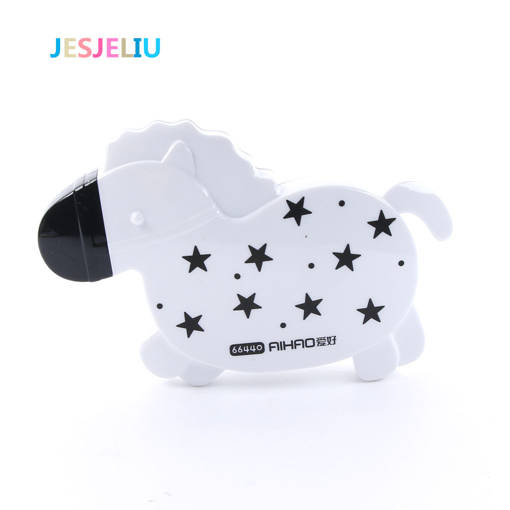 HOT Horse Shaped Correction Tape Cartoon Concealer School Cute Stationery