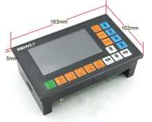 4 Axis PLC offine Controller 500KHz 100 Pulse MPG Handwheel Emergency Stop for CNC Router Engraving Milling Machine